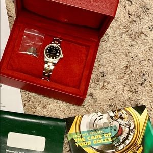 Rolex Ladies watch 6917 SS and 14K YG with Diamond